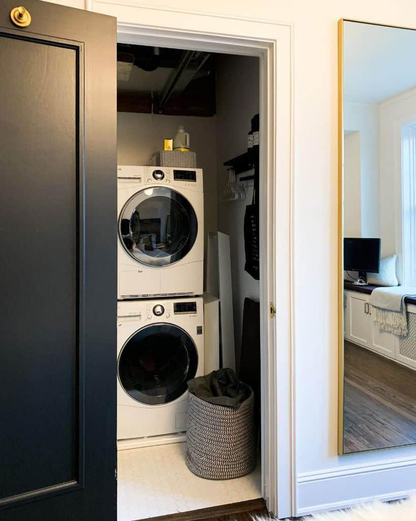 small laundry closet ideas mviamontes