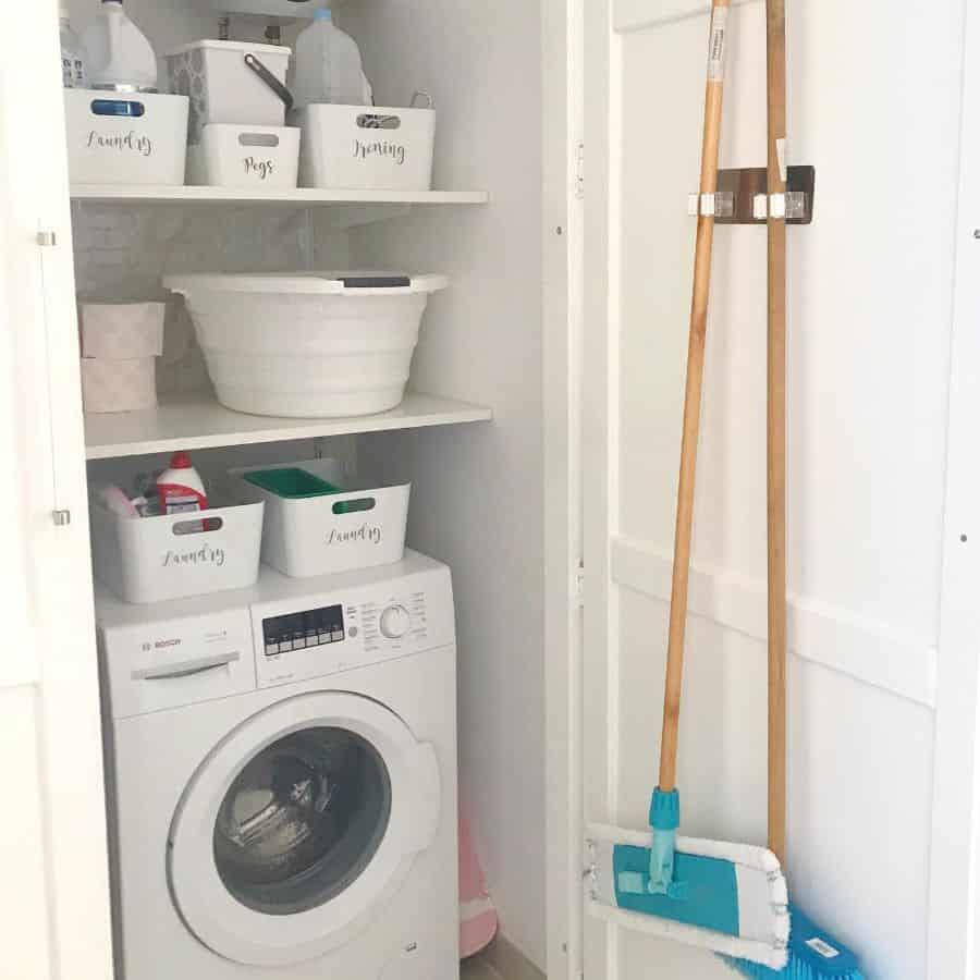 small laundry closet ideas my_maltese_home