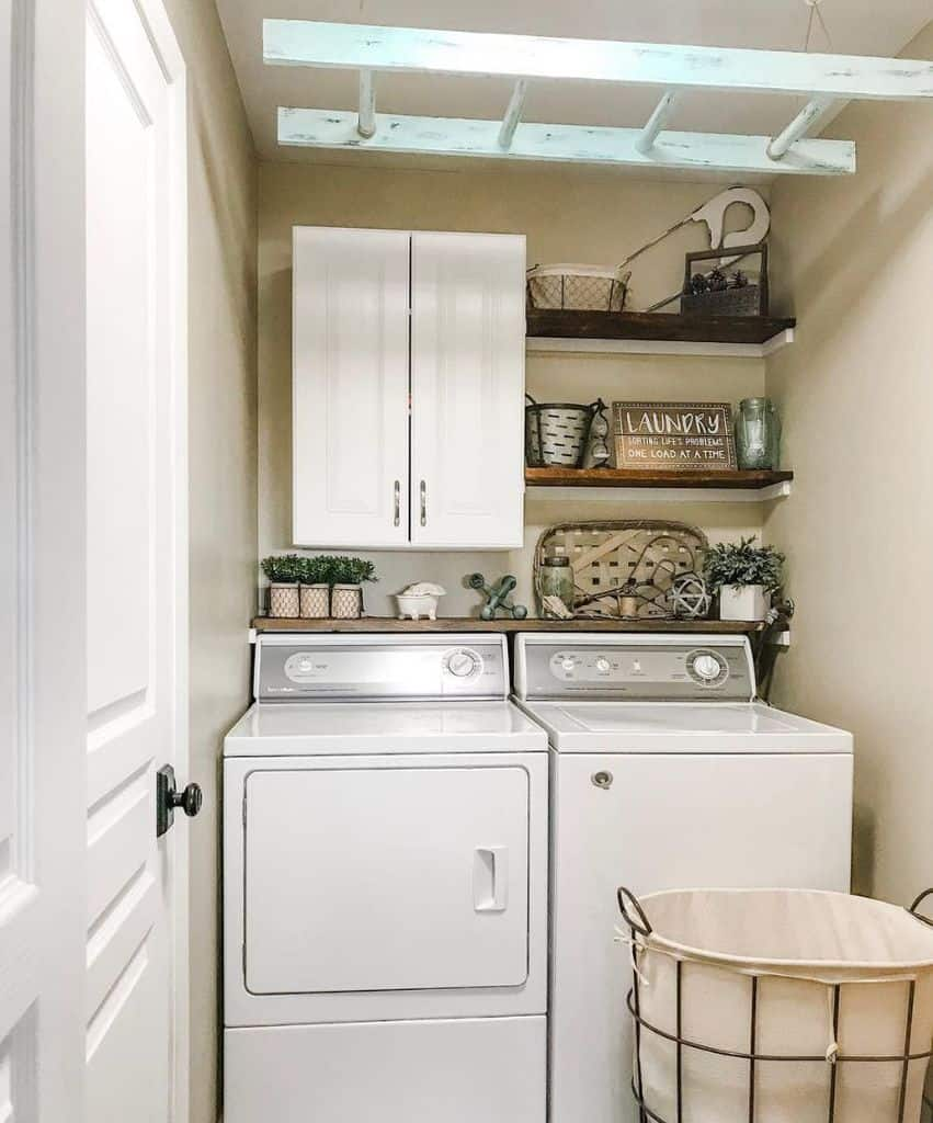 Small Laundry Room Cabinet Fauxfarmhouseranch