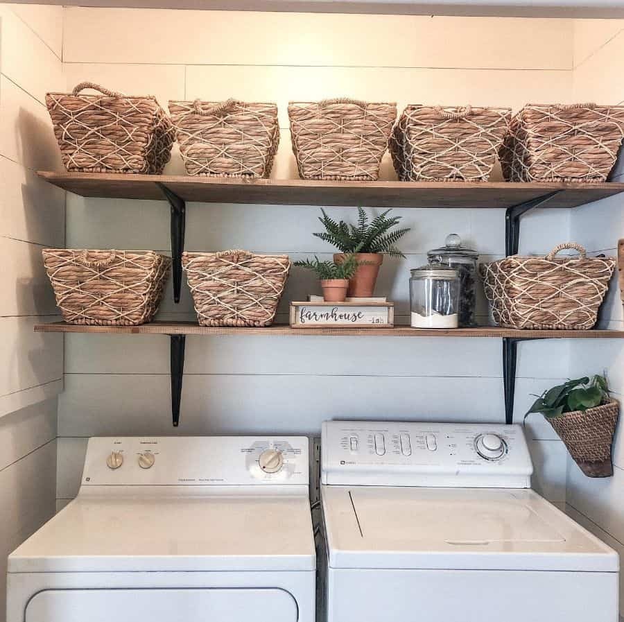 Small Laundry Room Organization Afrugalfarmhouse