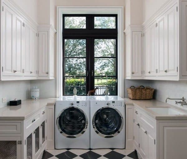 Small Utility Ideas: Top 50 Best Laundry Room Ideas