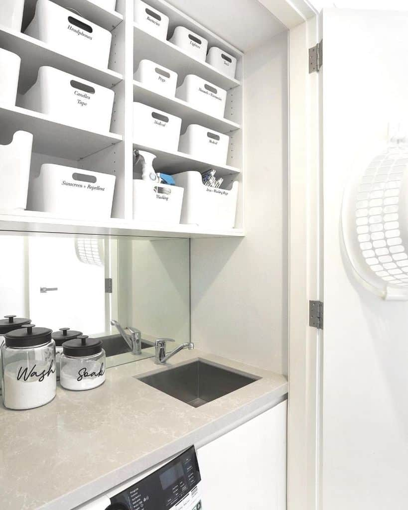 Small Laundry Room Organization Theorganizedlife