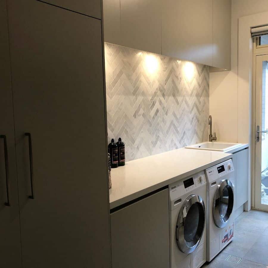 small laundry room sink ideas adelesteventon_interiordesign