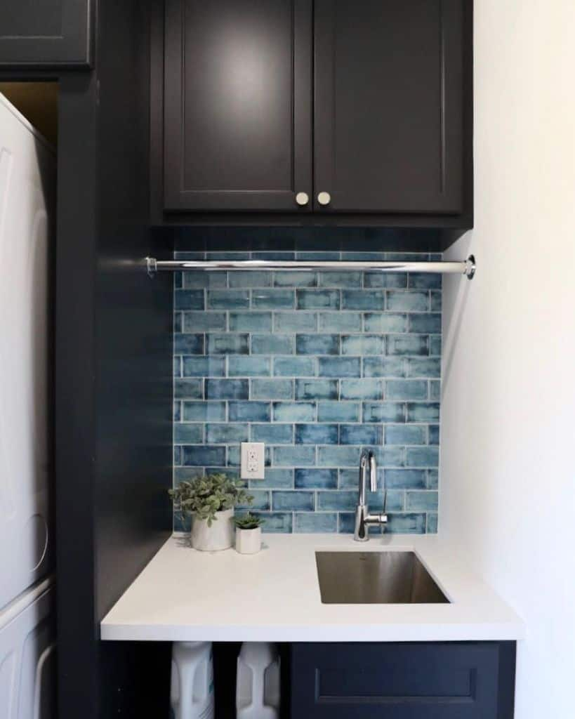 small laundry room sink ideas juliebylerremodel