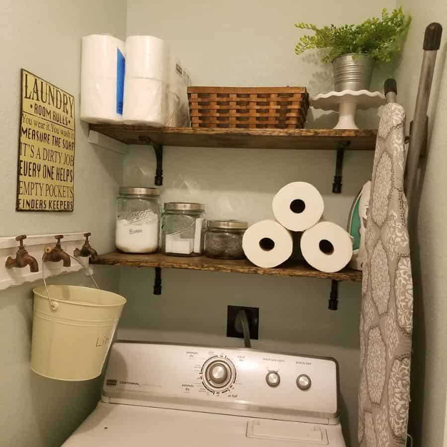 Small Laundry Room Storage Diary.of.a40something.mom