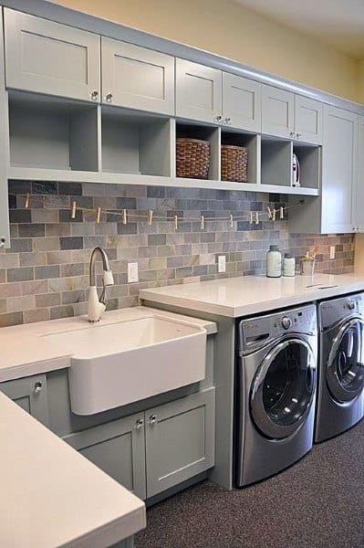 Delightful Small Laundry Room Storage Ideas