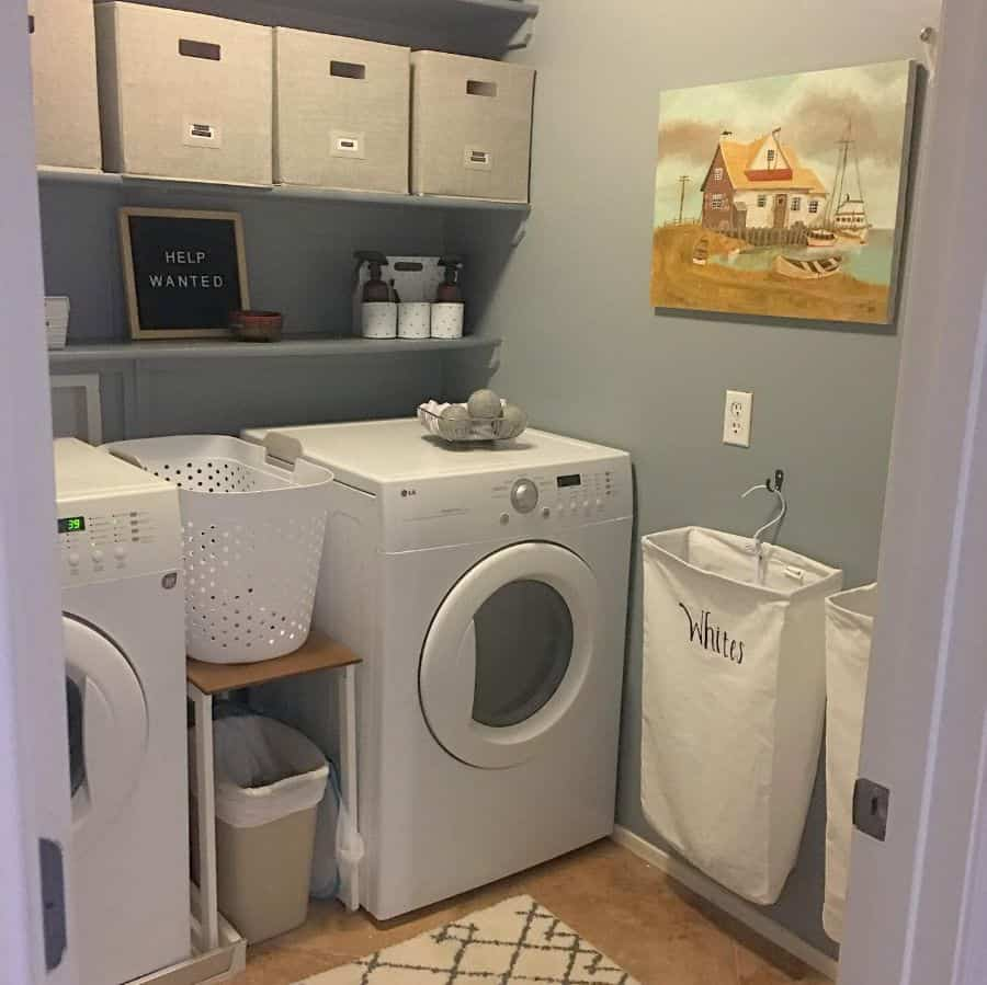 Small Laundry Room Storage Merelymaking