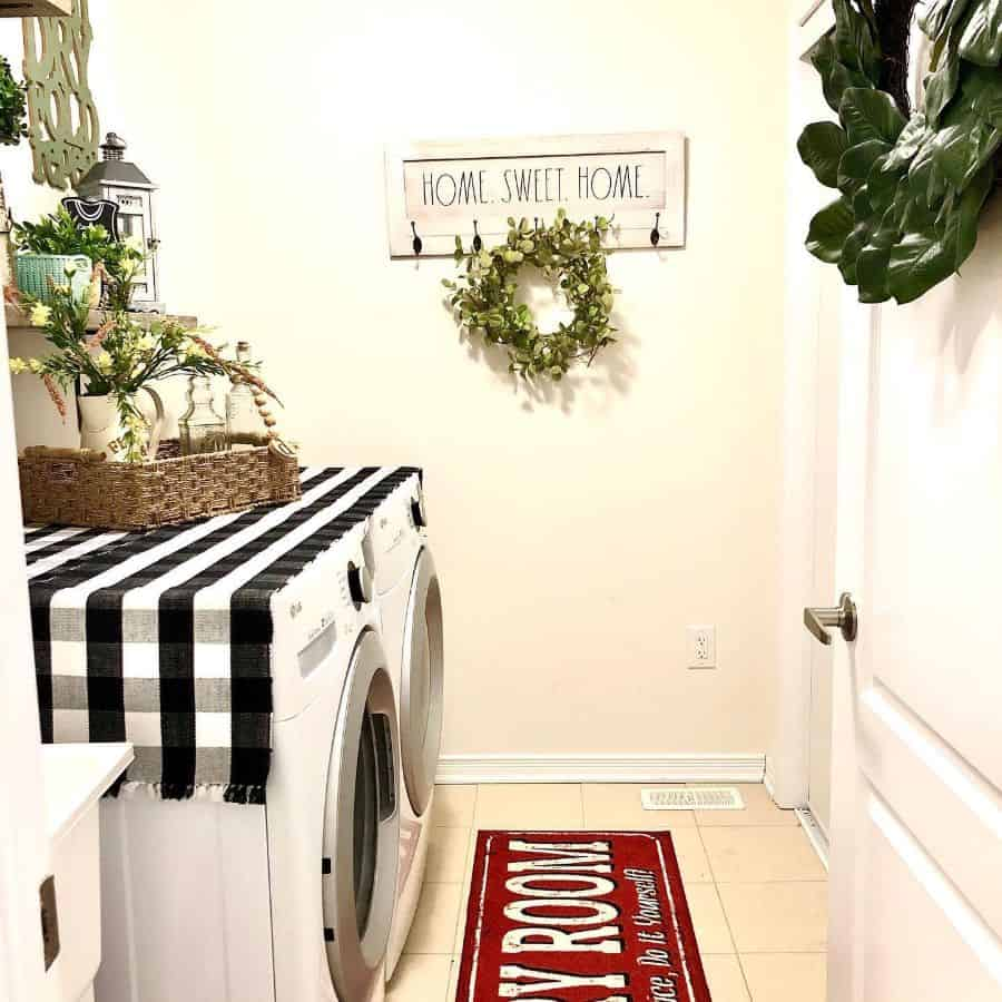 Small Laundry Room Washer Belladdesigns01