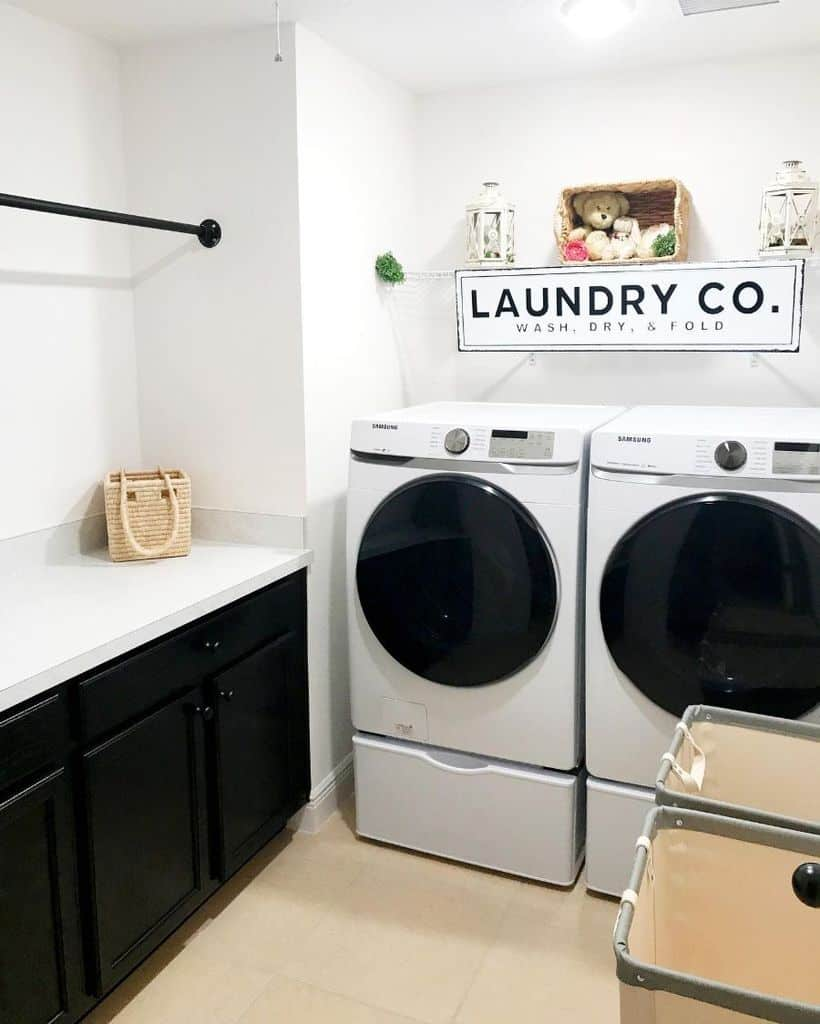 Small Laundry Room Washer Bellesfarmhouse