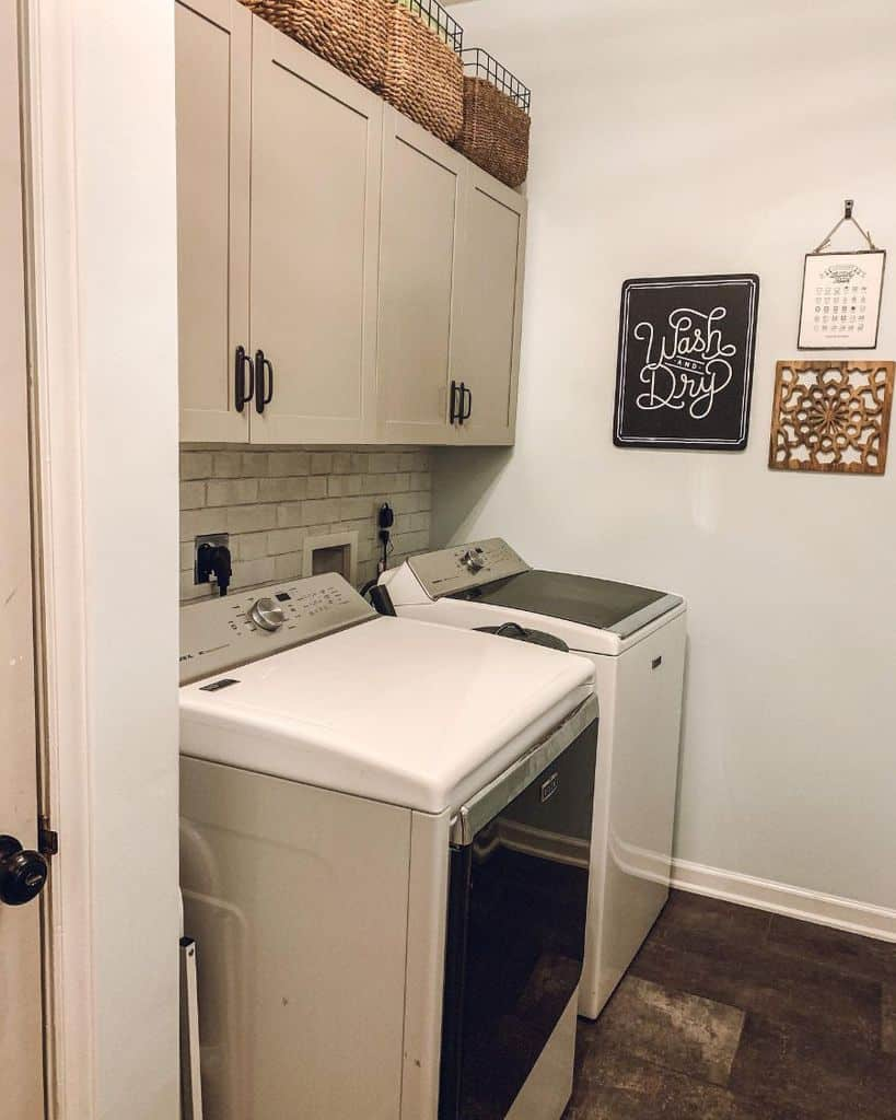 Small Laundry Room Washer Crooked Little House