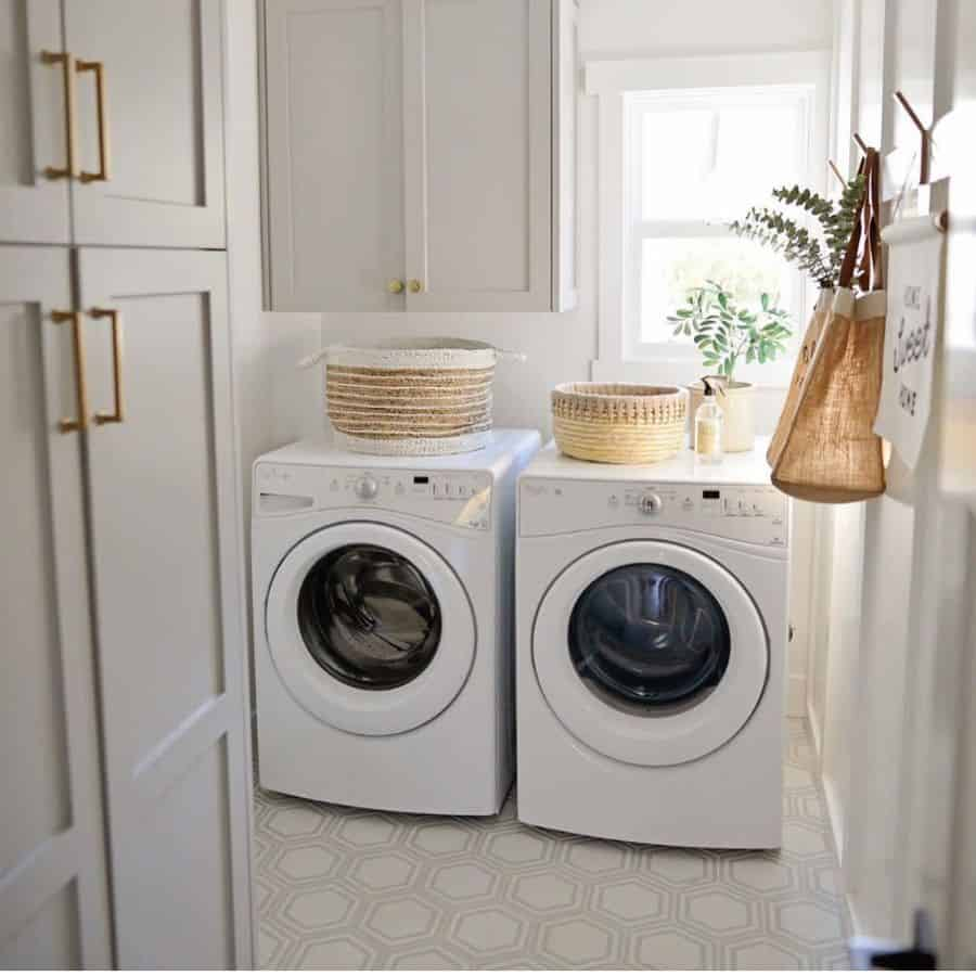 Small Laundry Room Washer Eco Tails Home