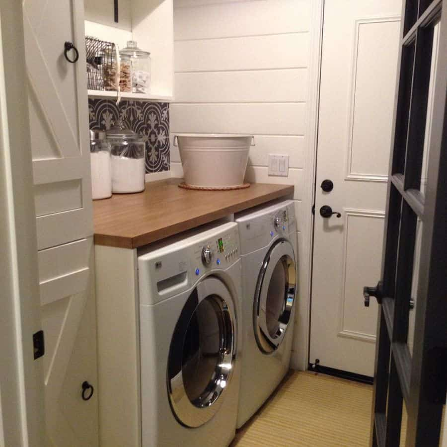 Small Laundry Room Washer Farmastyle.by.leah
