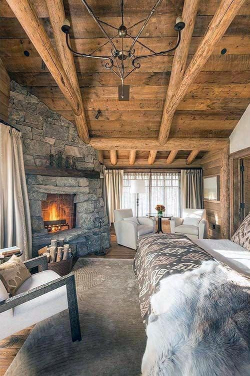 Small Log Cabin Interiors