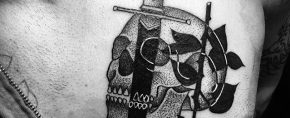 50 Small Manly Tattoos For Men – Masculine Design Ideas