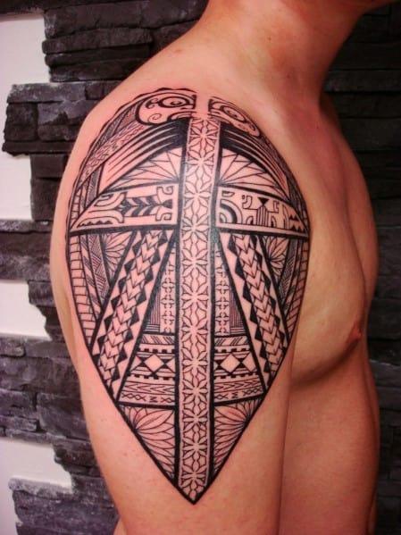 Small Men's Arm Tattoo