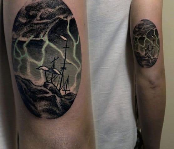 Small Mens Lightning Tattoo Meaning