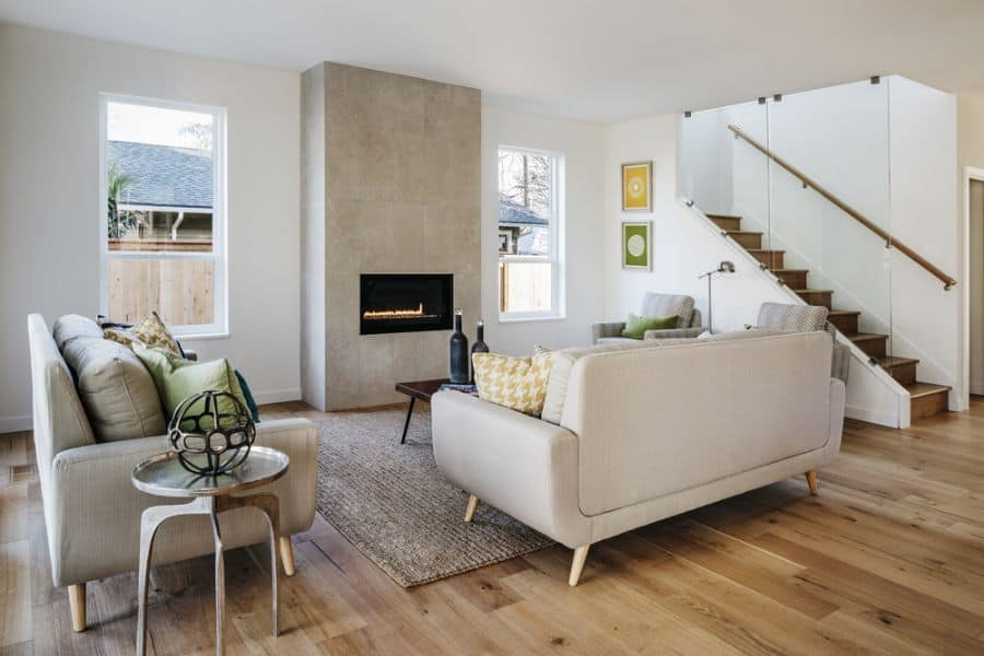 Small Mid Century Modern Living Room 2