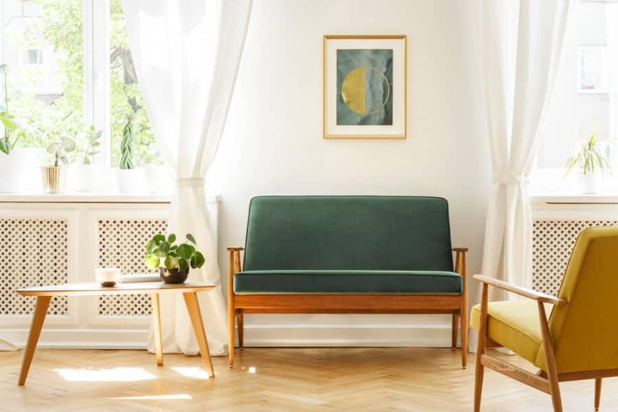 Small Mid Century Modern Living Room 3