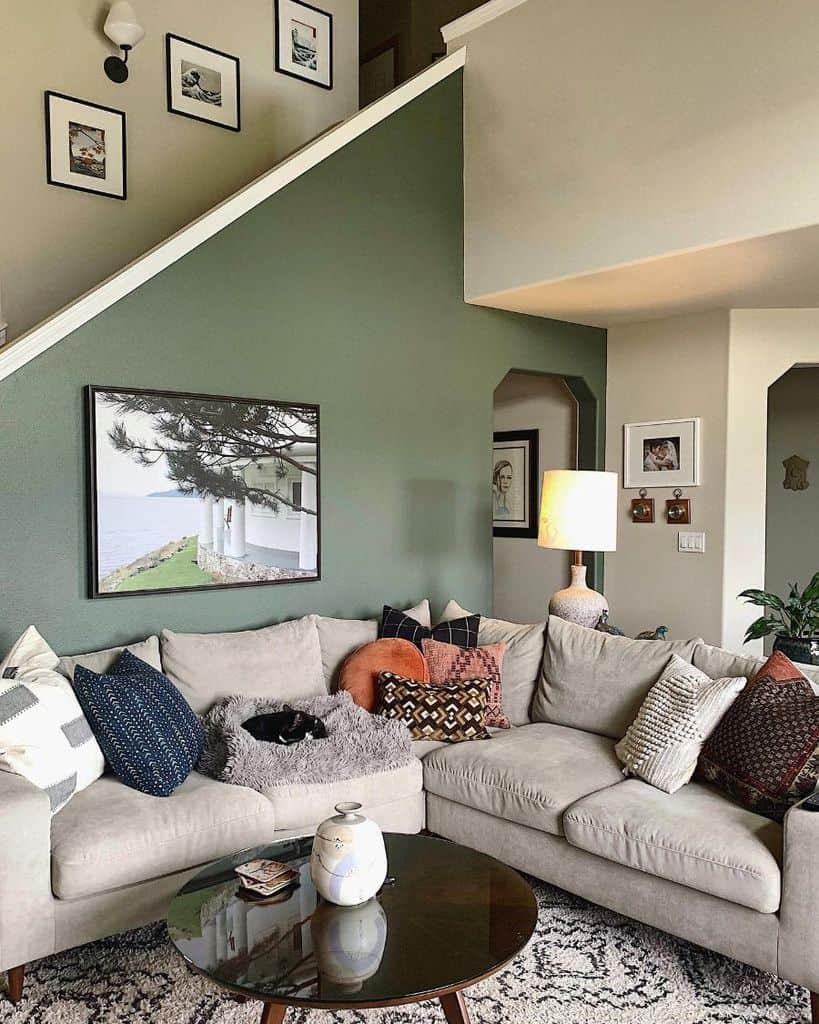 Small Mid Century Modern Living Room Velvetandshaghome