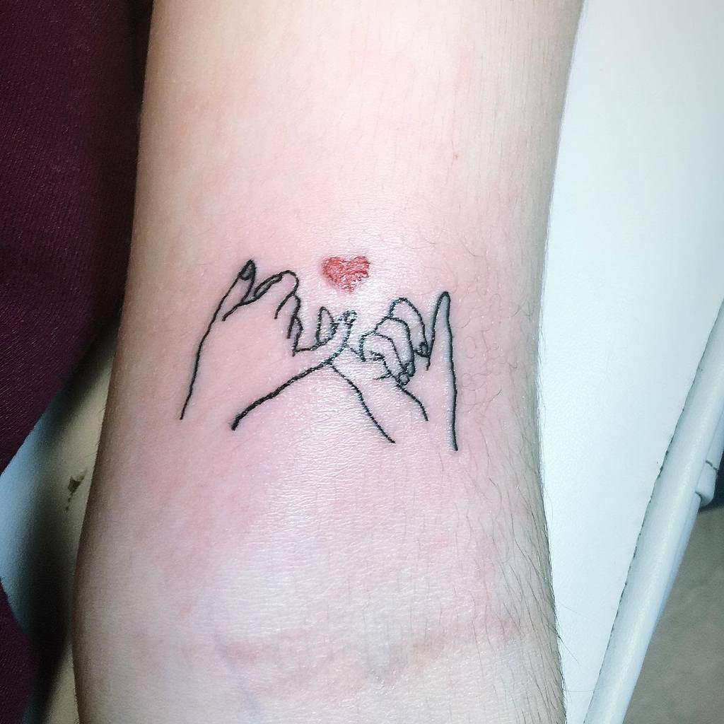 Small Minimalist Pinky Promise Tattoos Moomanutattoo