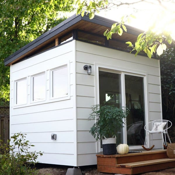 Small Modern Backyard Shed Cool Exterior Ideas
