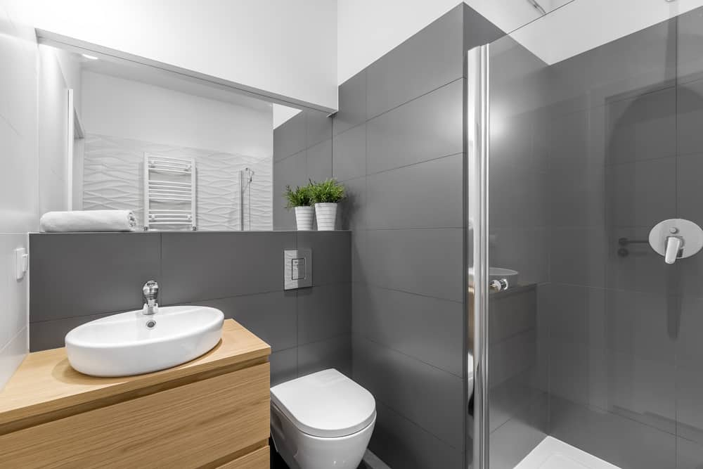 Small Modern Bathroom 10