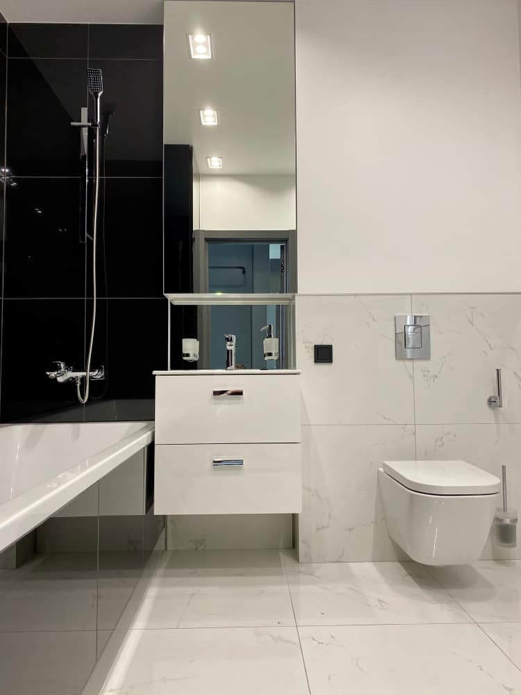 Small Modern Bathroom 2