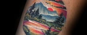 50 Small Nature Tattoos For Men – Outdoor Ink Design Ideas