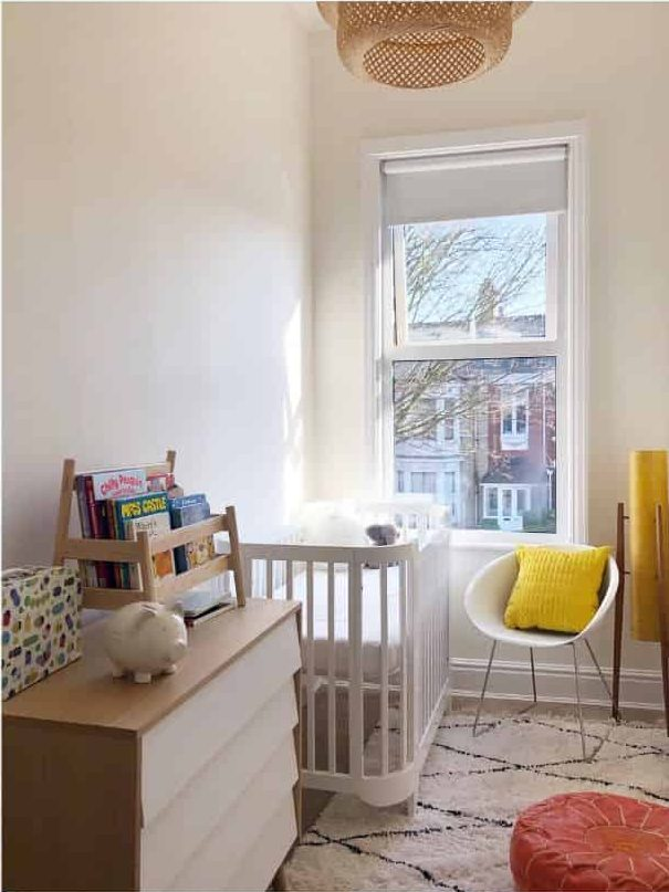 Small Nursery Ideas Shades Of White House