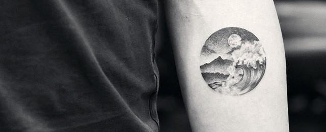 Small Ocean Tattoos For Men