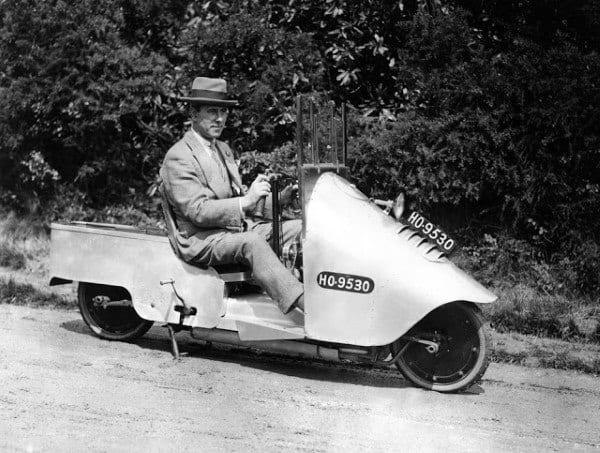 Small One Person Automobile