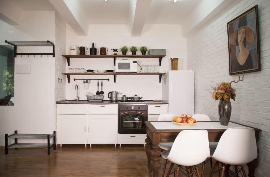 Small Open Kitchen Ideas