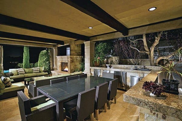 extraordinary backyard outdoor kitchen ideas | Top 60 Best Outdoor Kitchen Ideas - Chef Inspired Backyard ...