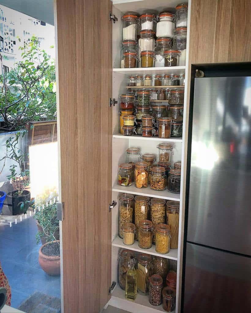 small pantry organization ideas oldschooltraveller