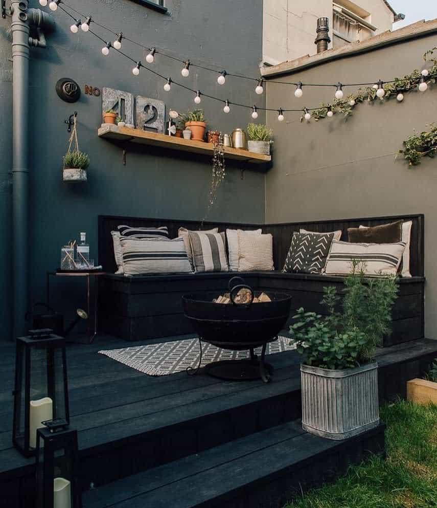 small patio deck ideas puntodereves