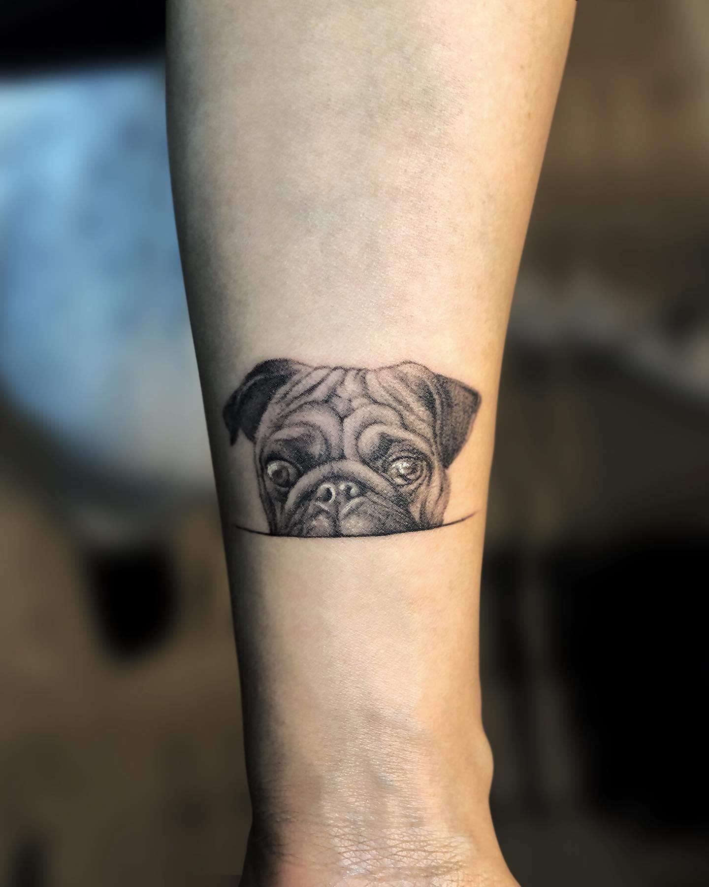 Small Pug Tattoo Dakid.ttt