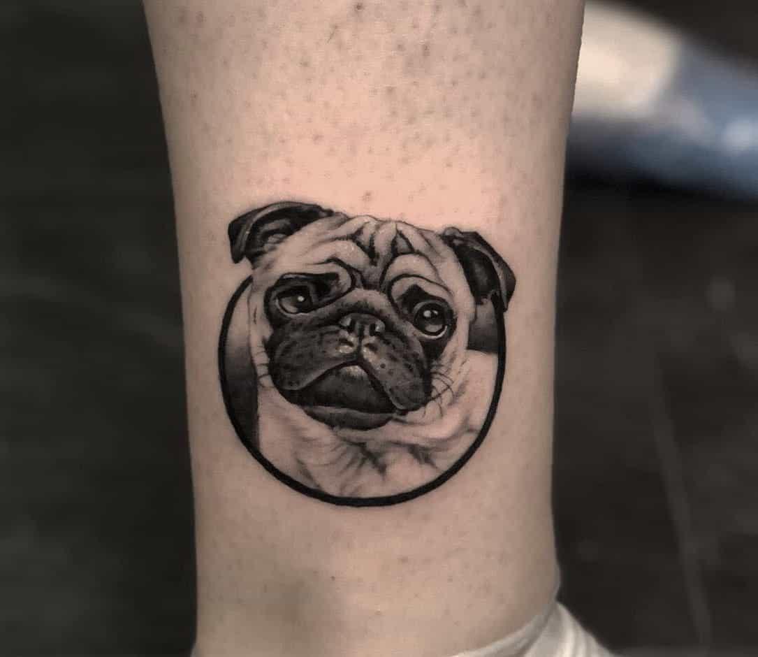 Small Pug Tattoo Markotasevski Tattoo