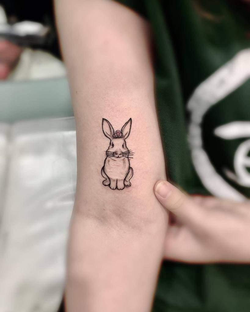 Small Rabbit Tattoos Biwen.ye