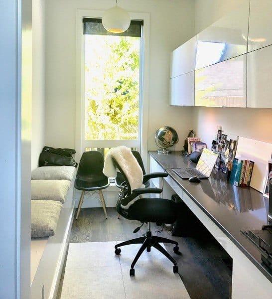 Small Room Built In Desk Ideas