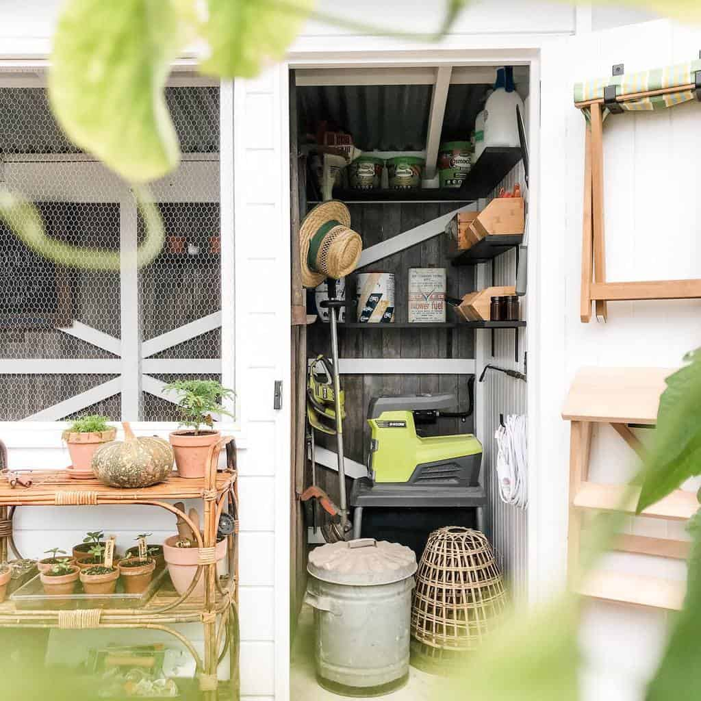 small shed storage ideas 119houseonthehill
