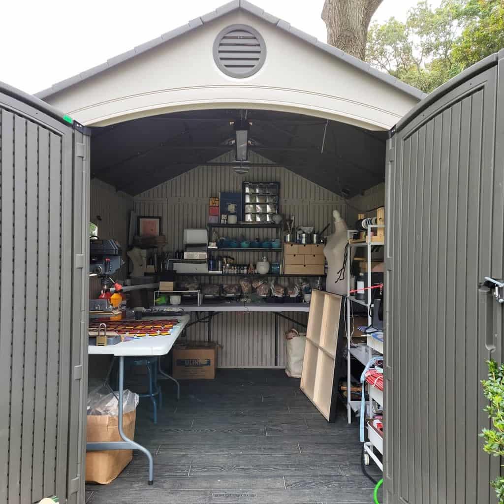 small shed storage ideas huewood