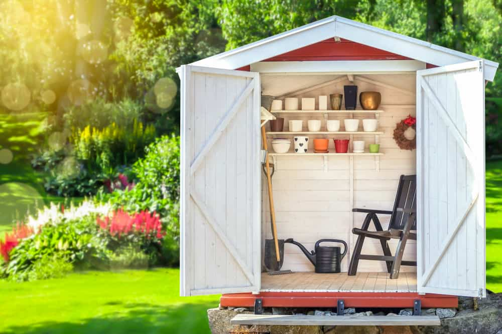 small shed storage ideas