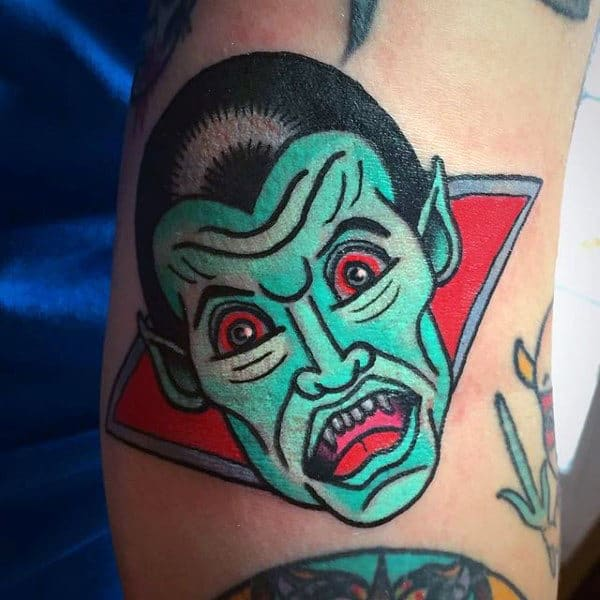 60 Vampire Tattoos For Men