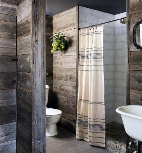Small Sized Rustic Bathroom Ideas