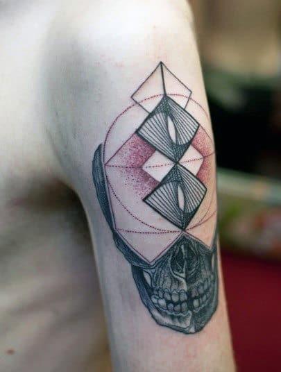 Small Skull Tattoos For Guys