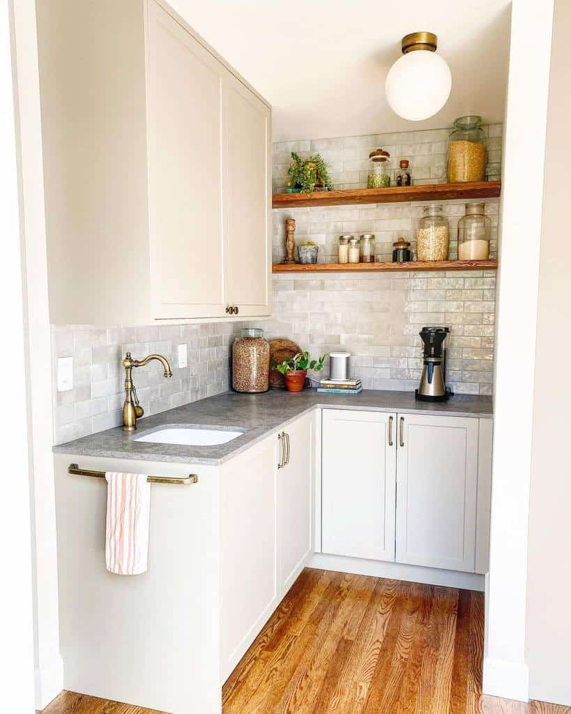 small space butler pantry ideas 48thdesign
