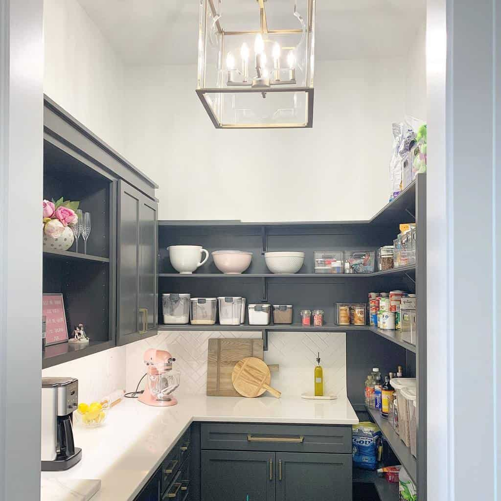 small space butler pantry ideas mypinksparklylife