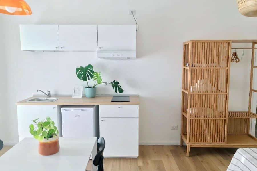 Small Space Kitchen Ideas Botanea Guesthouse