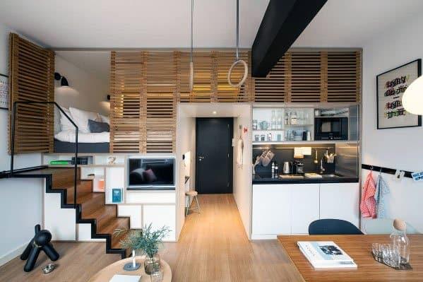 Small Stuido Apartment Ideas