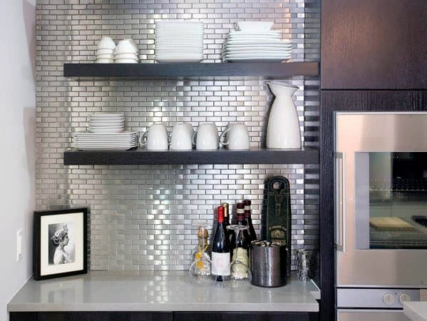 Top 50 Best Metal Backsplash Ideas - Kitchen Interior Designs Metal Kitchen Backsplash Ideas on black white and gray kitchen ideas, metal kitchen decor, kitchen ceiling ideas, metal kitchen tables, small kitchen with island design ideas, metal kitchen countertops, granite tile countertops kitchen ideas, cheap kitchen counter ideas, copper kitchen ideas, metal kitchen ceilings, metal kitchen shelves, metal bathroom, unique kitchen ideas, metal outdoor kitchen, kitchen wall ideas, metal kitchen carts, metal kitchen backsplashes, cheap kitchen update ideas, metal backsplash for kitchen, metal kitchen islands,